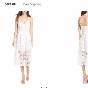 White dress from Nordstrom